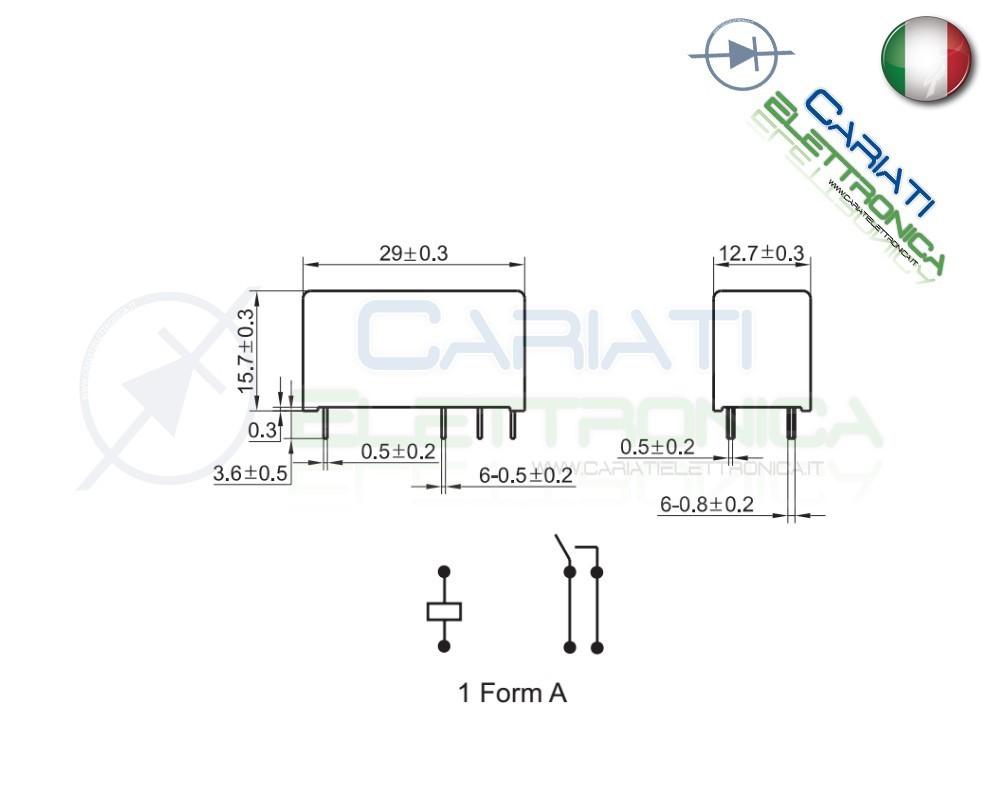 relay rel u00e8 hongfa alte prestazioni 12v dc 16a 250v