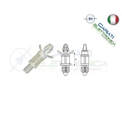 4 PEZZI Distanziale supporto per circuiti stampati pcb 6,4mm  1,00€