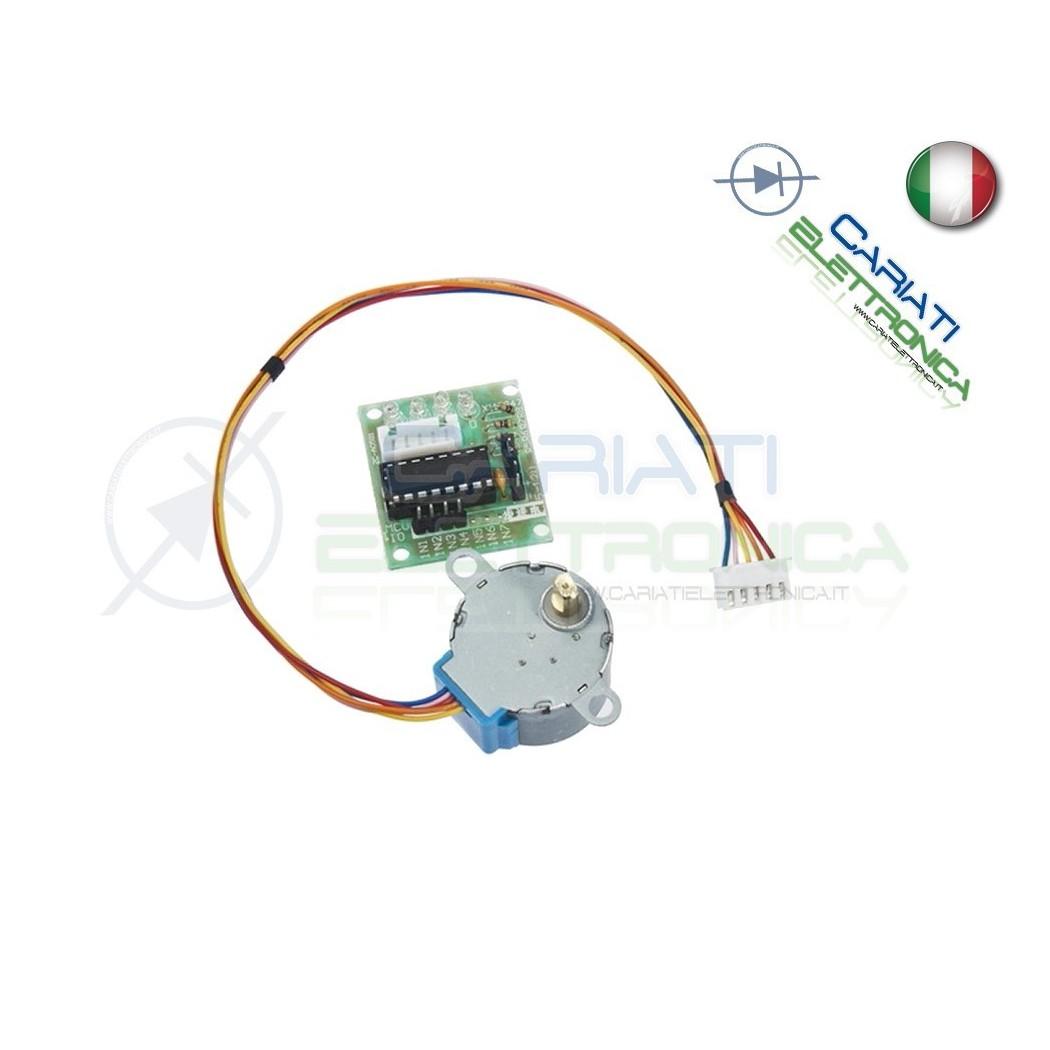 Motore passo passo con driver 28BYJ-48 + ULN2003A stepper shield Arduino Pic STEP MOTOR  4,90€