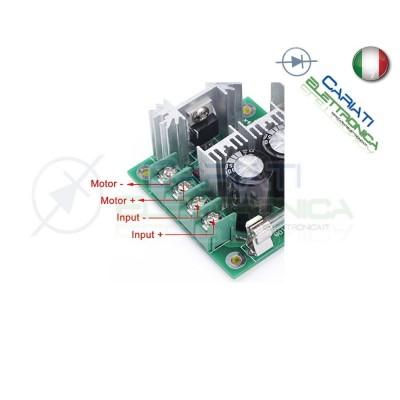 Schema Elettrico Regolatore Pwm : Pwm driver motore dimmer regolatore di velocità giri a v v