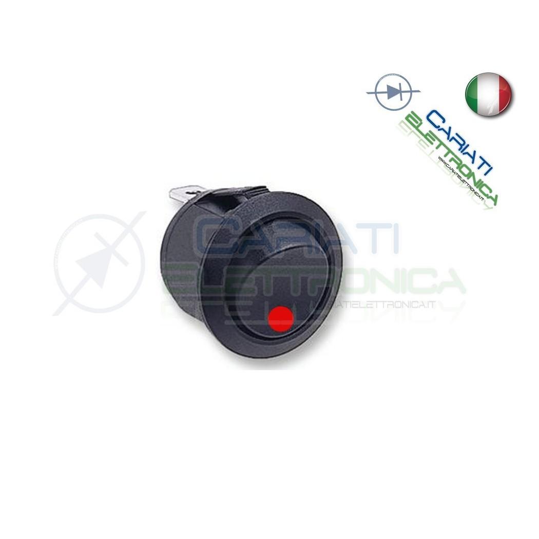 Interruttore Con Led Rosso 16A 12V 1,50 €