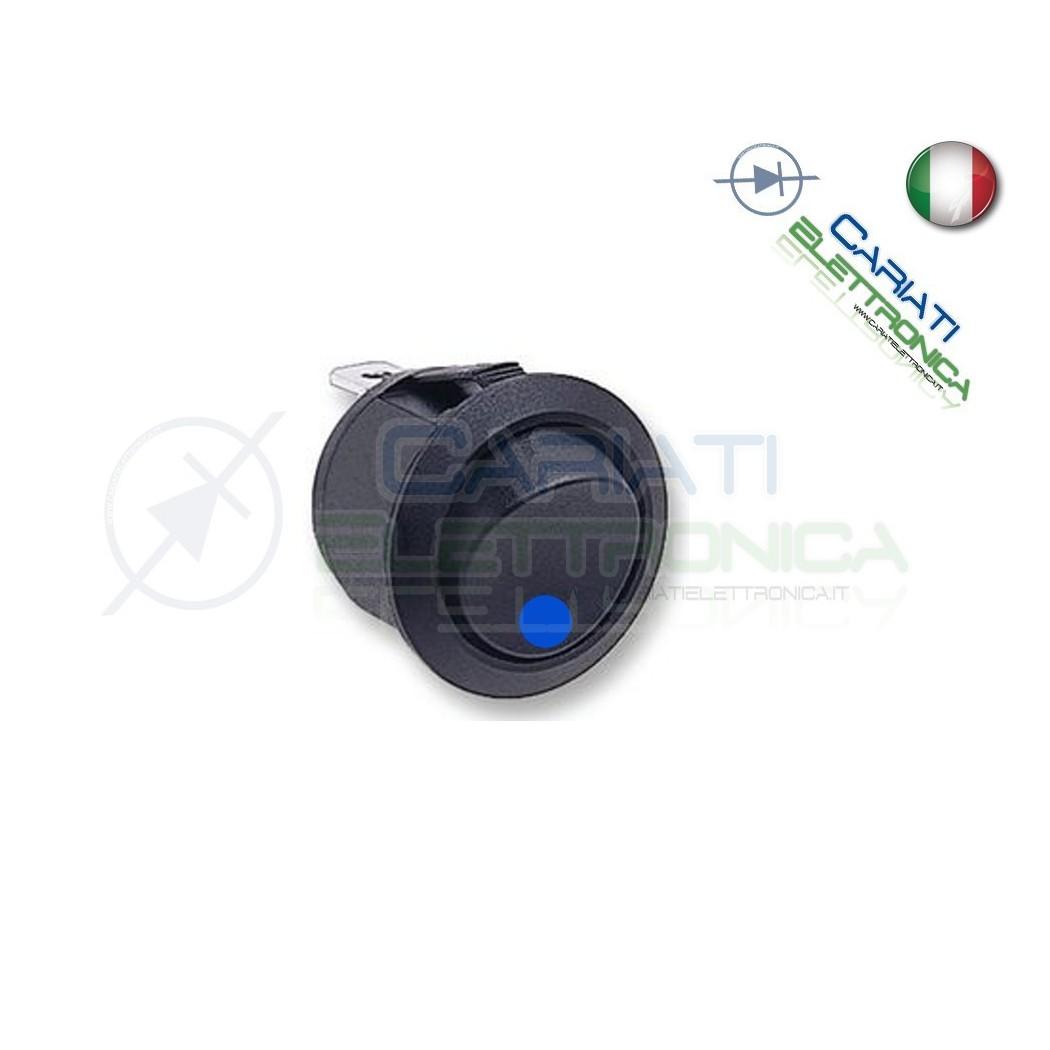 Interruttore Con Luce Blu 6A 250V