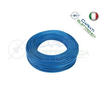 Cavo Unipolare Blu N07Vk N07V-K 1,5mm Filo Elettrico Impianti 5 Metri 5M Baldassari Cavi