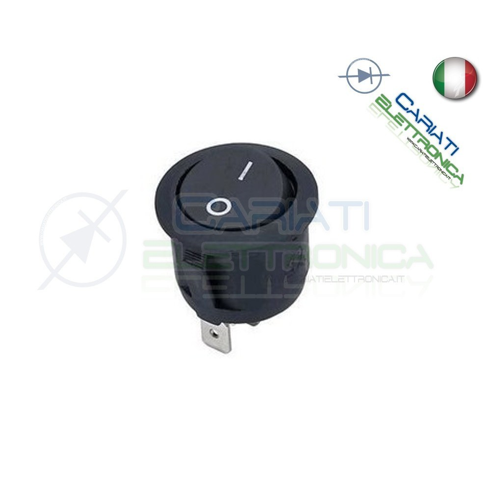 Interruttore ON OFF 6A 250V  1,00 €