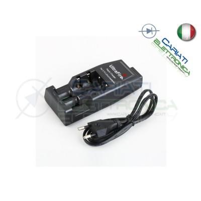 Caricabatterie caricatore Ultrafire WF-139 per 14500 17500 18500 17670 18650Ultrafire