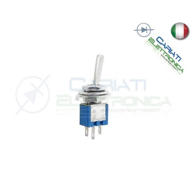 Interruttore Deviatore a Leva ON ON 3A 125V