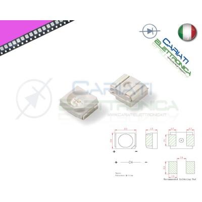 10 pz Led smd 3528 ROSA PLCC PLCC2 Alta Luminosità 5,50 €