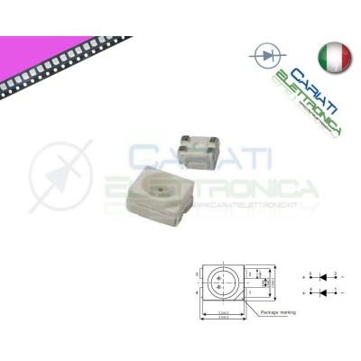 10 pz Led smd 3528 ROSA PLCC4 alta Luminosità  6,50€