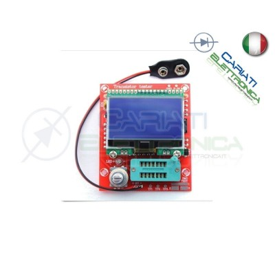 Tester transistor NPN PNP MOSFET diodi tiristori resistori condensatori 29,50 €