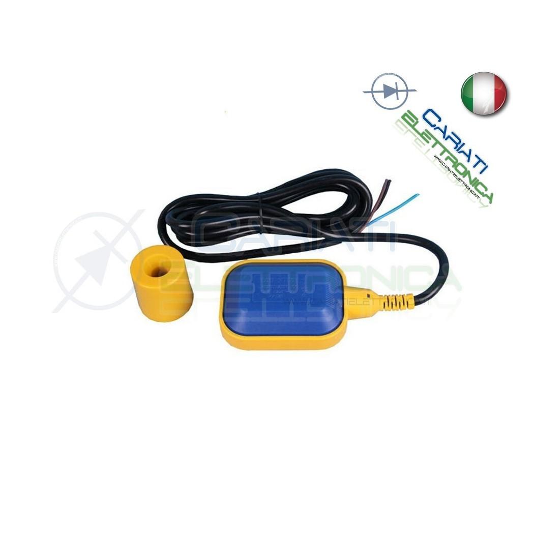 Sensore interruttore di livello galleggiante per pompa elettrica cavo 4 metri 13,90 €