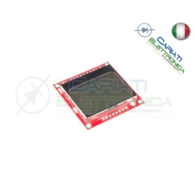 Nokia 5110 LCD Display Screen Module 84x48 compatibile con Arduino