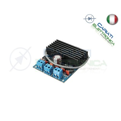 Amplificatore audio digitale Tda7492 2x50W classe D