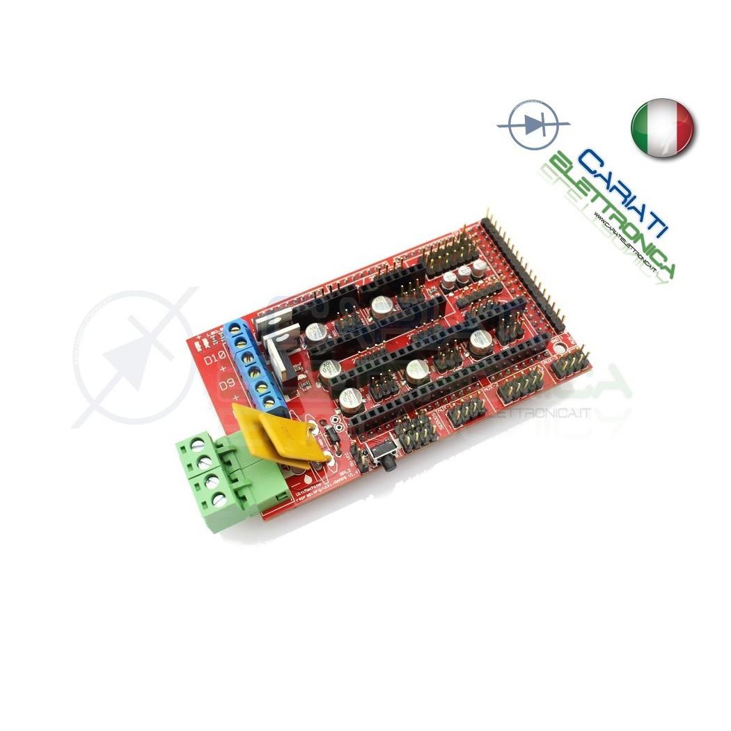 Controller RAMPS 1.4 Reprap Mendel Prusa stampante 3D printer Arduino 7,99 €