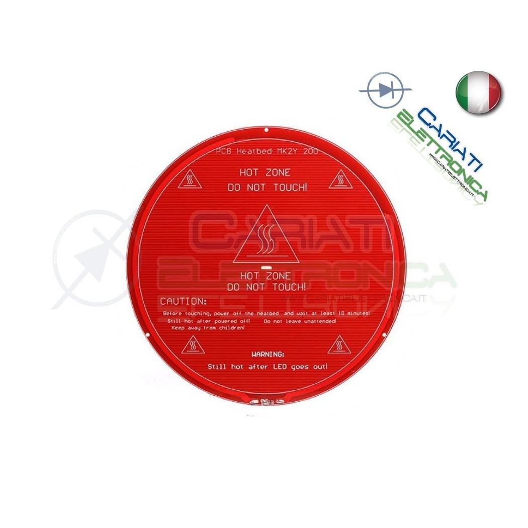 Piatto Piastra calda MK2Y Heatbed Round RAMPS stampante 3D hot plate 13,90 €