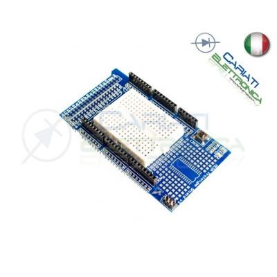 Scheda compatibile per ARDUINO MEGA 2560 proto shield V3 basetta millefori PCB Arduino