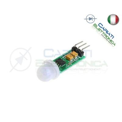 Mini Micro PIR Sensore Infrarosso Movimento Pyroelectric Infrared HC-SR505  3,70€