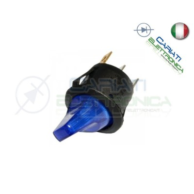 Interruttore Leva con Luce Blu ON OFF 6A 250V
