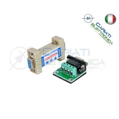 CONVERTITORE da RS232 a RS485 con Adattatore 4 pin Seriale STM485S