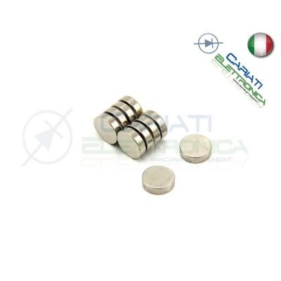 10 Pezzi Calamita Magnete Neodimo 3mm 3x1 mm Potenti Fimo Ceramica Bomboniere Generico