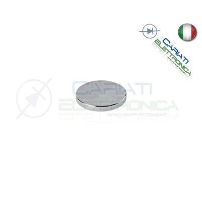 1 Pezzo CALAMITA MAGNETE NEODIMIO 20mm 20X3 mm POTENTE FIMO CERAMICA BOMBONIERE