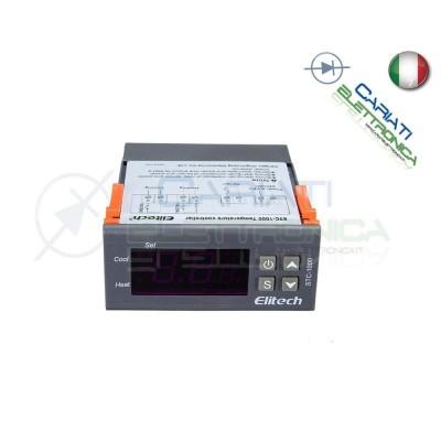 TERMOSTATO Regolatore Controllore di Temperatura Termoregolatore STC-1000 10A  21,99€