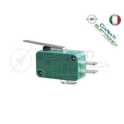 Microswitch Pulsante Fine Corsa Micro Switch a Leva 16A 250Vac