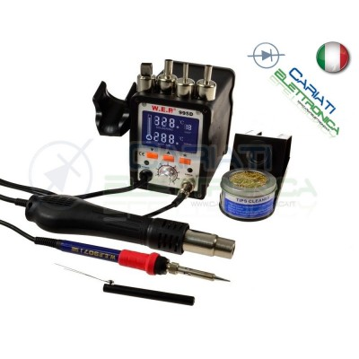 STAZIONE SALDANTE DISSALDANTE SALDATORE STAGNO Modelo 995DGuangzhou Yihua Electronic Equipment Co.,Ltd.