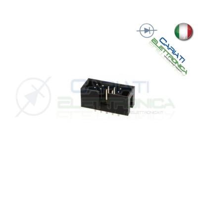 2 PEZZI CONNETTORE IDC MASCHIO 16 POLI PER CAVO PIATTO FLAT CABLE 1,00 €