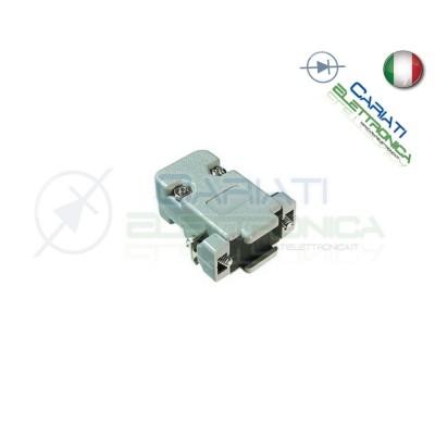 Cover per connettore D-Sub 9 poli in plastica con vite