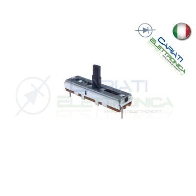 Potenziometro a slitta 500K mono lineare 45mm B500K slide 500kohm Mixer Audio Cosocomi