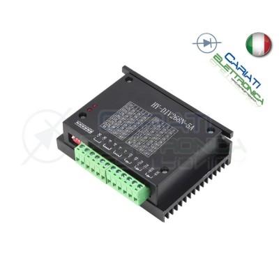 Azionamento Stepper Scheda Driver Controller TB6600 5A CNC HY-DIV268N Motore Nema 17 23