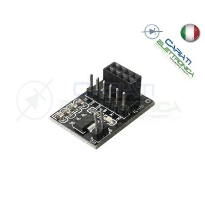 Adattatore per modulo wireless NRF24L01+ 2,4Ghz - arduino