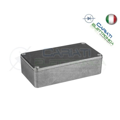 1 PEZZO Contenitore metallico in Alluminio 111x61x31 mm compatibile 1590B 6,99 €