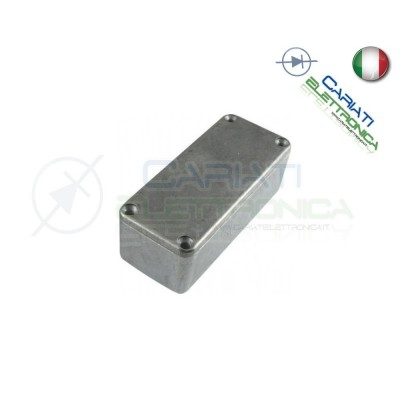 1 PEZZO Contenitore metallico in Alluminio 92x39x31 mm compatibile 1590B