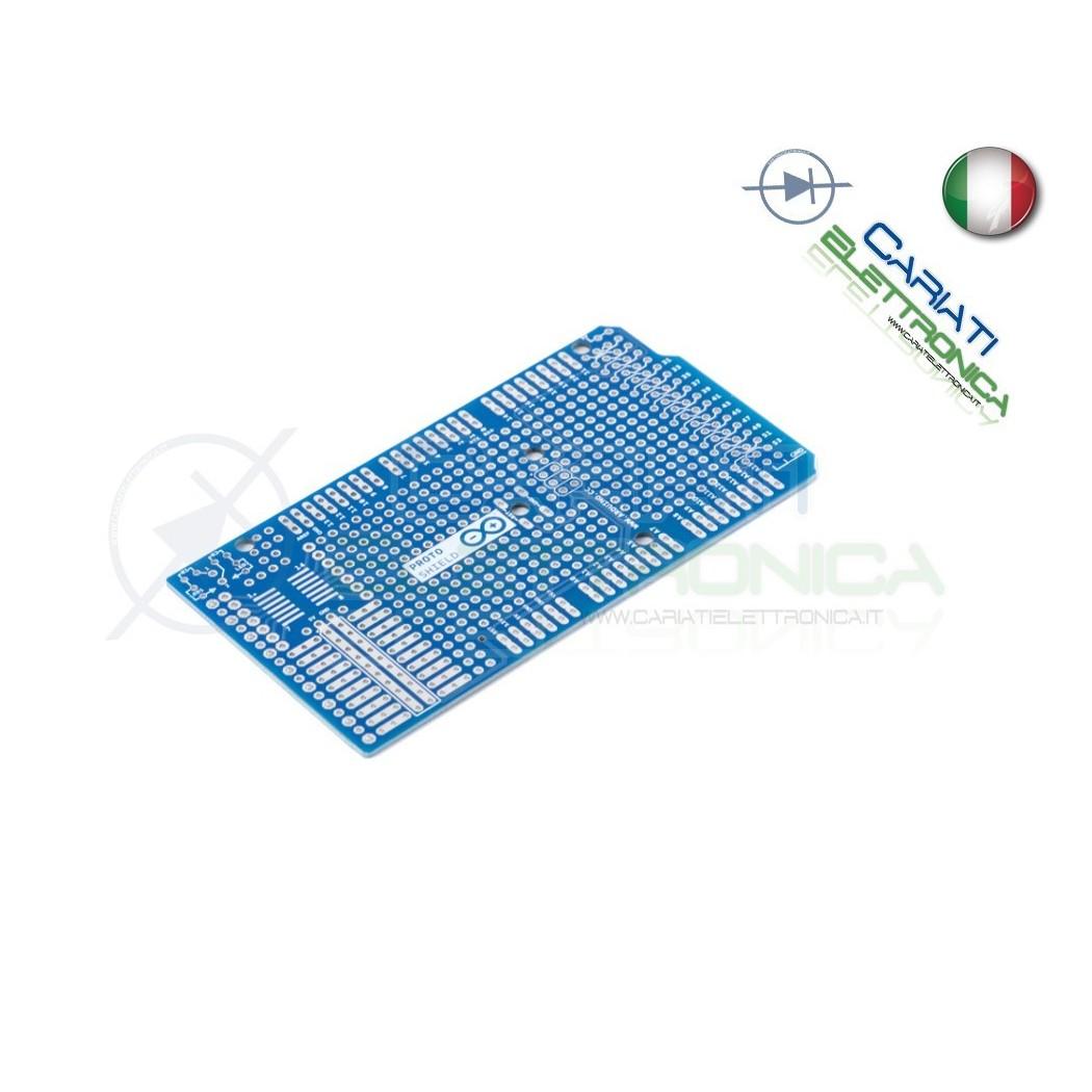 Scheda per ARDUINO MEGA 2560 proto shield basetta millefori PCB Arduino 5,30€