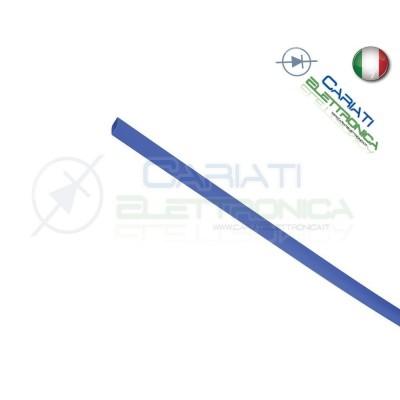 Guaina Termoretraibile Termorestringente BLU 2 metri da 1,5mm 1,00 €