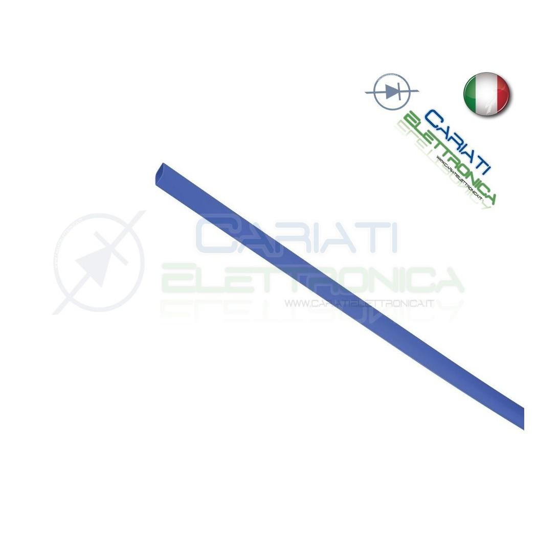 Guaina Termoretraibile Termorestringente BLU 10 m da 1,5mm