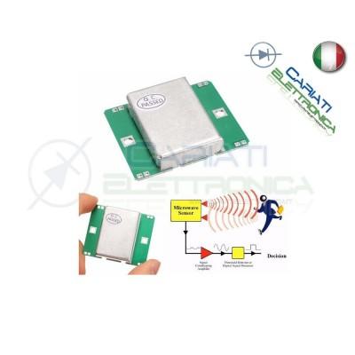 Sensore Modulo Movimento HB100 10 525GHz Doppler Radar Motion Detector  Arduino