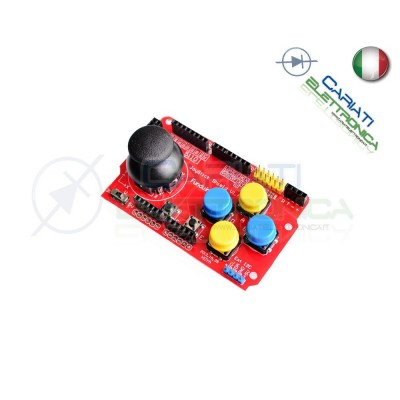JoyStick Shield mouse Compatibile con Arduino Pic