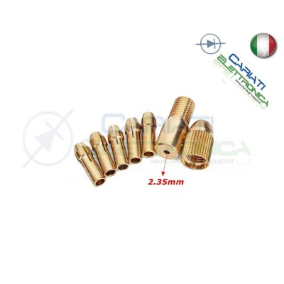 KIT Collettore Adattatore motore shaft asta Drill Bit Collet Micro Twist 3,99 €