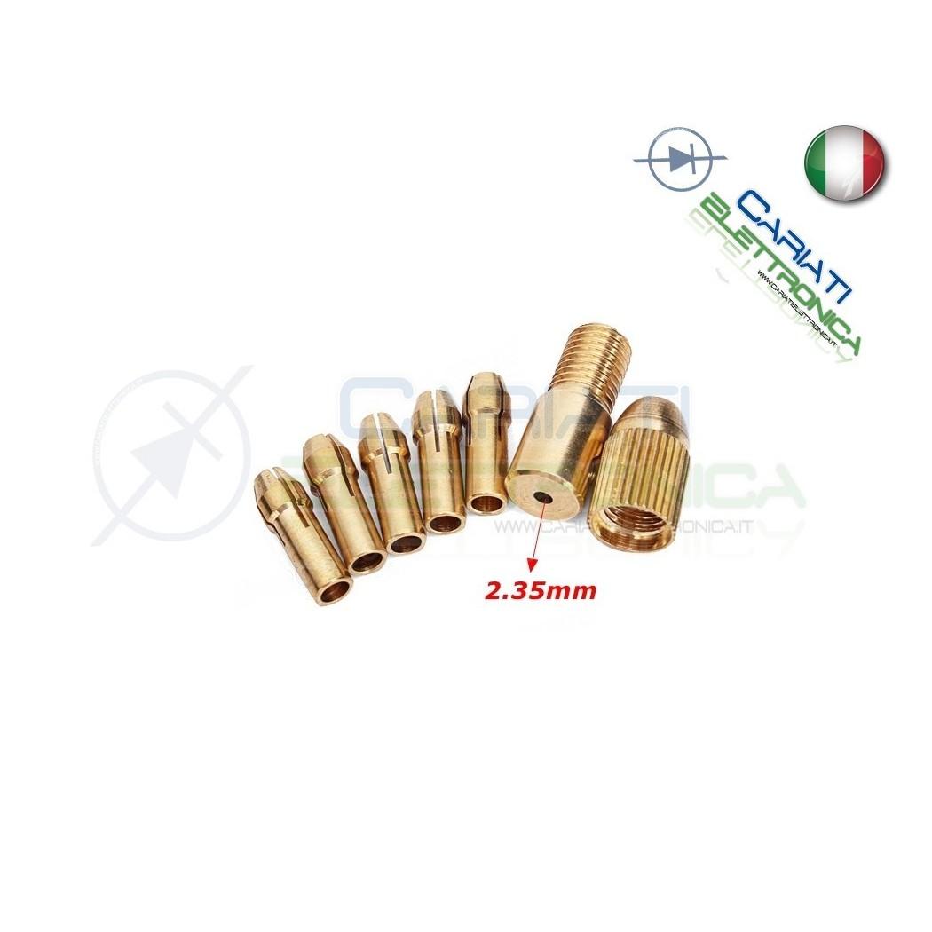 KIT Collettore Adattatore motore shaft asta Drill Bit Collet Micro Twist 3,99 €