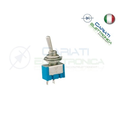 Interruttore Deviatore a Leva ON OFF 2A 250V  1,00 €