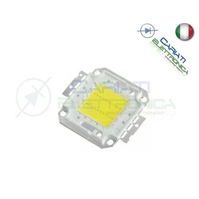 Chip LED power 20W Bianco Caldo 3000K alta Luminosità ricambio faro