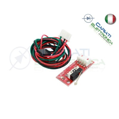 EndStop finecorsa Switch interruttore RAMPS Reprap Mendel Prusa stampante 3D  2,90€