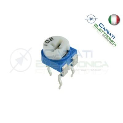 5 pezzi Potenziometro Trimmer Resistenza Variabile 100 ohm