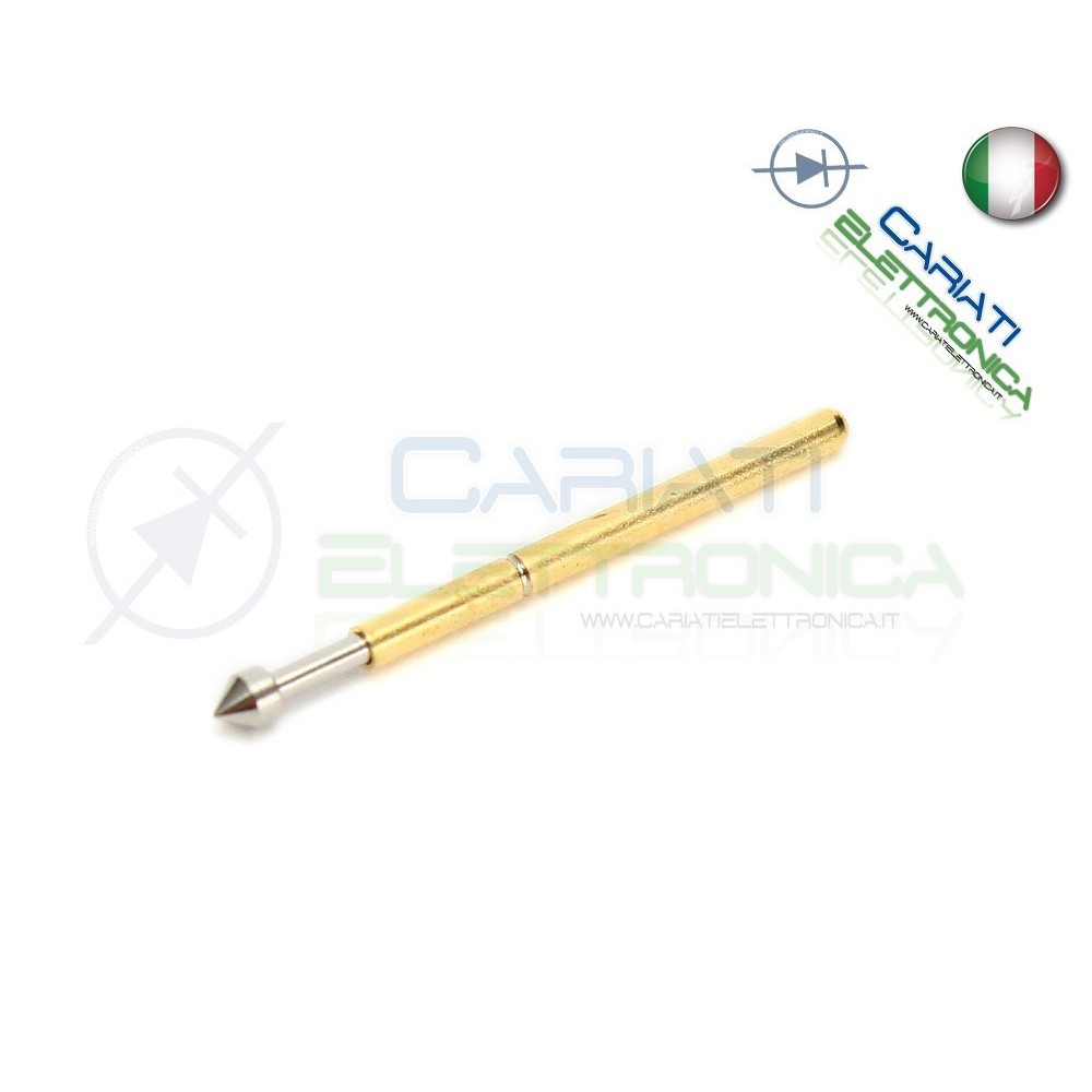 5 PEZZI Sonda test a molla PCB IC P75-E2 ring Probe Pin  2,50€