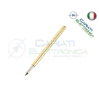 5 PEZZI Sonda test a molla PCB IC P75-B1 ring Probe Pin 1,50 €
