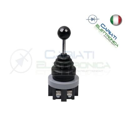 Joystick manopola da pannello industriale DPST NO 250V 6A 2 POSIZIONI  18,90€