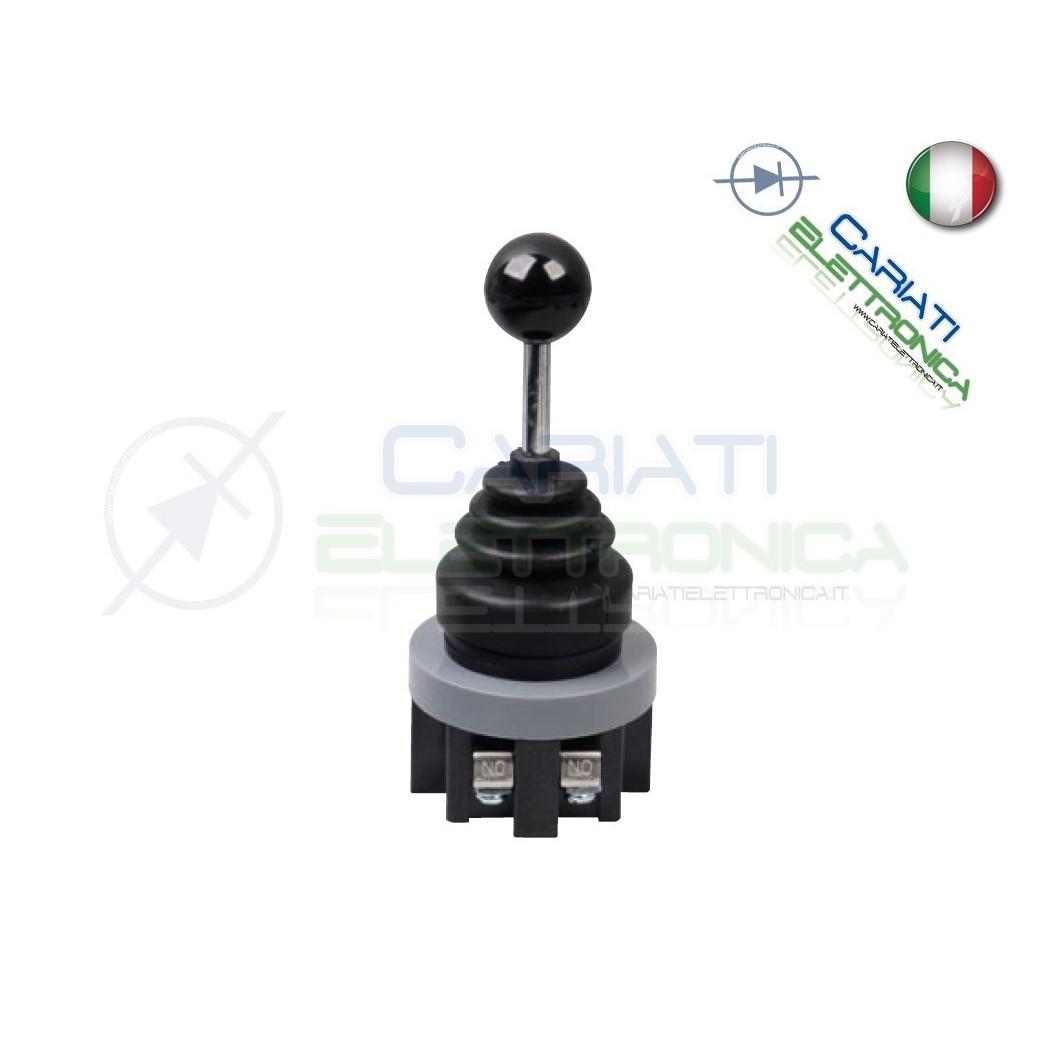 Joystick manopola da pannello industriale DPST NO 250V 6A 2 POSIZIONI 18,90 €