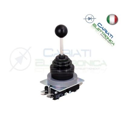 Joystick manopola da pannello industriale 4PDT 220V 6A 4 POSIZIONI  21,00€